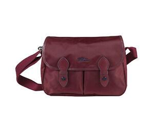 Details about New Longchamp Le Pliage Club Burgundy Messenger Bag