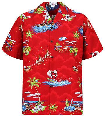 PLA Original Hawaiian Shirt E-Gitarren Sterne Highlight Schwarz Hawaiihemd