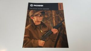 2008 ROSSI Rifles Shotguns Revolvers Muzzeloaders Catalog Illustrated Guns S8