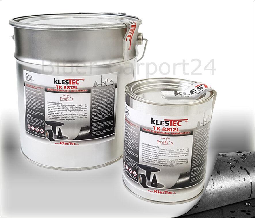 KlesTec TK-8812L EPDM-Kleber Dachfolie Flächenkleber Lösemittelbasis Dach Folie