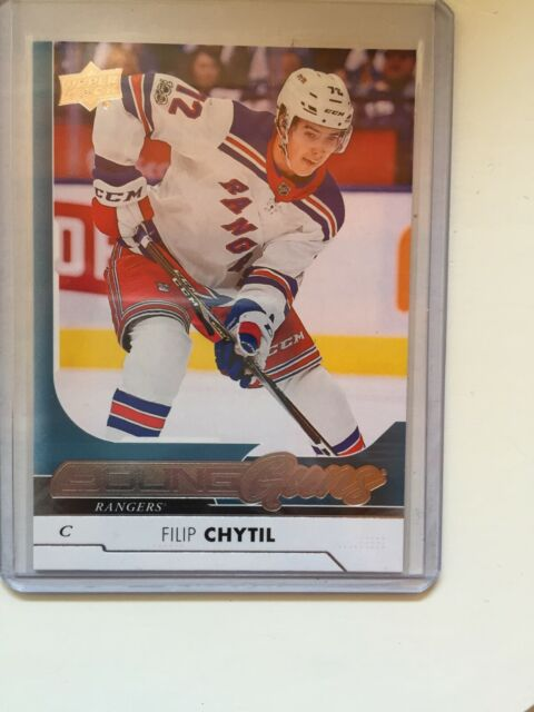 17/18 UD SERIES 1 FILIP CHYTIL YOUNG GUNS RC SP ROOKIE #227