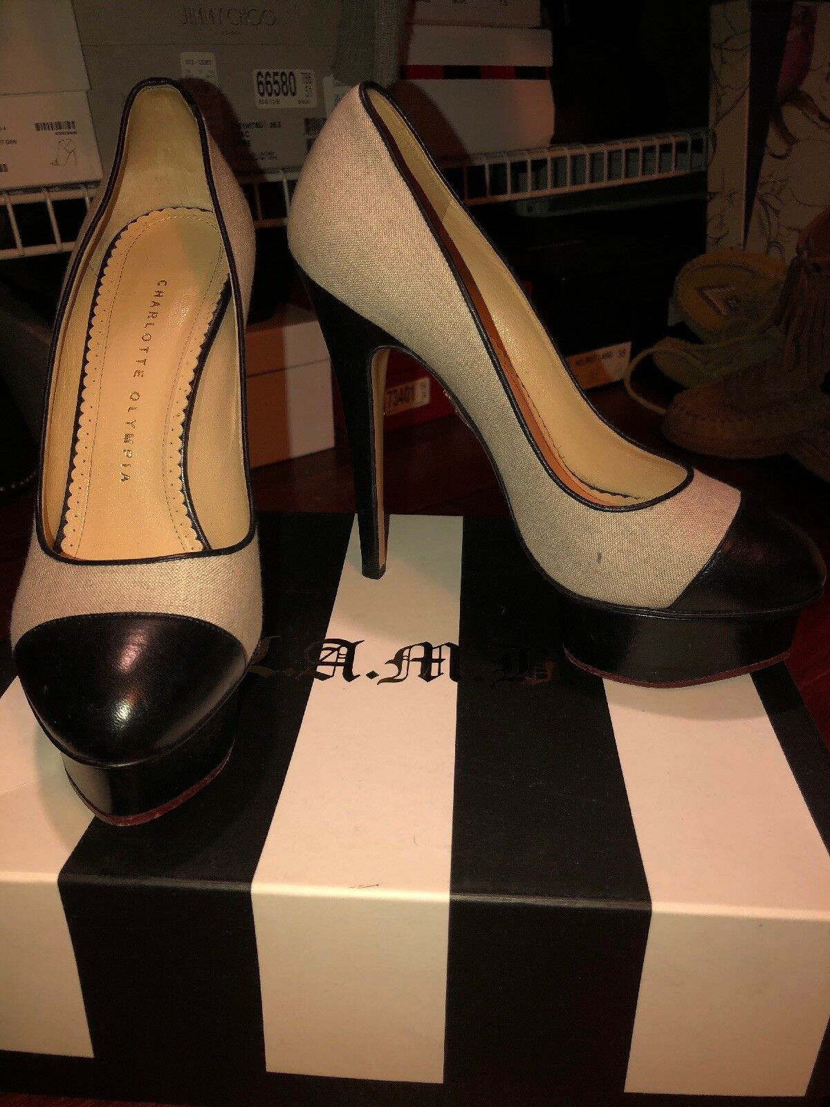 Men/Women Charlotte Olympia Pumps sell Brand Global sales