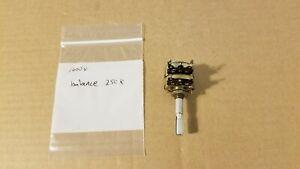 Sansui 1000X receiver balance control potentiometer 250K part # - 101040