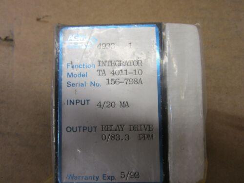 AGM ELECTRONICS TA 4011 10 INTEGRATOR