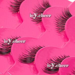 Makeup-Winged-Half-False-Eyelashes-Extension-Set-Mini-Accent-Corner-Eye-Lashes