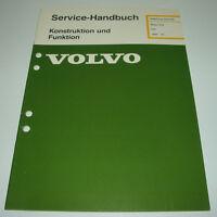 Werkstatthandbuch Volvo 340 Motor D 16 / D16 Dieselmotor Diesel ab Baujahr 1984!