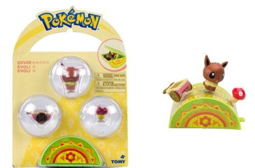 Pokemon Cute Figure Et Accessoire EEVEE petite Pals Figurine Mini Neuf