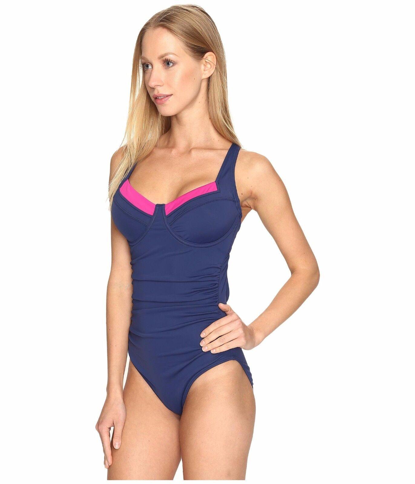 Lole Women's Guajira One-Piece Dark Spectrum Swimsuit  SZ S