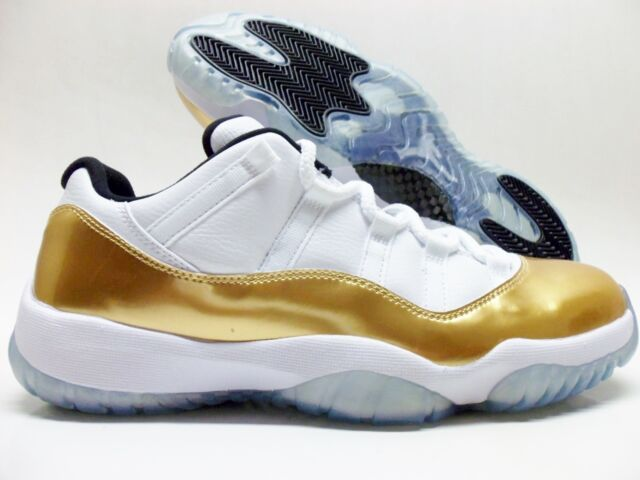 0f756d5a0c37 NIKE AIR JORDAN 11 RETRO LOW CLOSING CEREMONY GOLD COIN SZ MEN 9.5  528895-