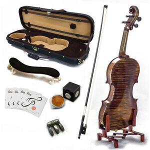 SKY-AAA-Maple-4-4-Size-VN515-Violin-Grand-Master-Series-Professional-Fiddle-NEW