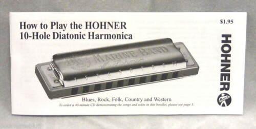 HOHNER CLEARLY COLORFUL QUALITY ORANGE TRANSLUCENT HARMONICA KEY OF C w// BONUS