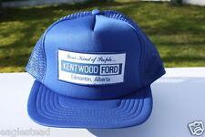 Ball Cap Hat - Ford -  Kentwood - Edmonton Alberta Dealer (H674)