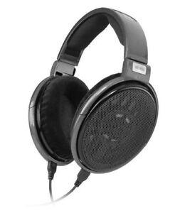 sennheiser hd 650 headband headphones titan ebay