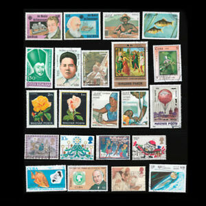 10Sheet-Different-Assorted-Sheets-Foreign-Stamp-Collection-Random-Send