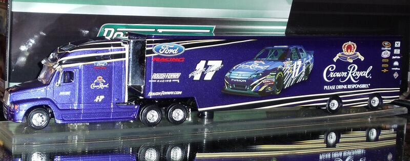 MATT KENSETH 2011 CROWN ROYAL HAULER 1 64 SCALE  ACTION NASCAR DIECAST