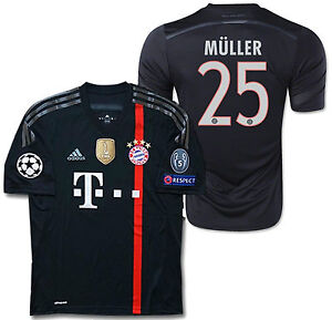 20565f5cb Image is loading ADIDAS-THOMAS-MULLER-BAYERN-MUNICH-UEFA-CHAMPIONS-LEAGUE-