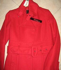 cappotto-giacca-corta-IMPERIAL-originale100-S-small-40-42-rosso-natale-lana