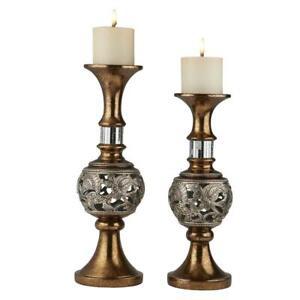 Langi-Gold-Silver-finish-Candle-Holder-Set-of-2