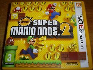 Details about New Super Mario Bros  2 Nintendo 3DS 2DS kids platform game  brothers bros