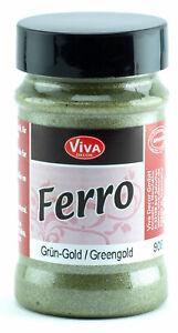 Viva-Decor-Ferro-Metal-Effect-Colour-Greengold-Green-Gold-Color-Metallic-Finish