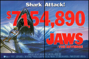 JAWS-4-The-Revenge-Original-1987-box-office-print-AD-poster-MICHAEL-CAINE