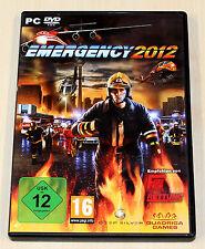 EMERGENCY 2012 - PC DVD - NEUWERTIG - FEUERWEHR NOTFALL SIMULATION --- (2013 5)