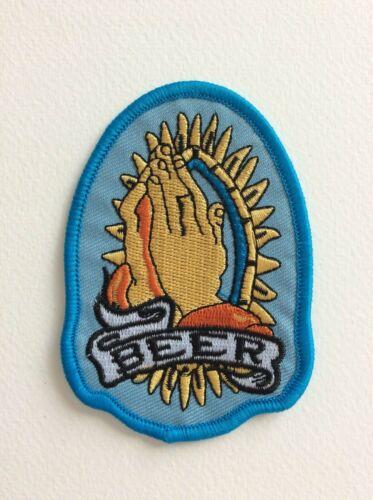 D128 PATCH ECUSSON GOD BEER 6*9 CM