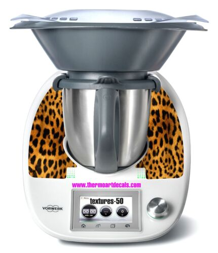 Thermomix TM5 Sticker Decal Code: Texture 50