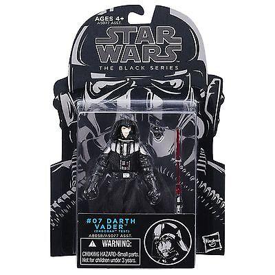 """Star Wars 3.75"""" Black Series Darth Vader Dagobah Test #07 NEW NOC *SALE*SALE*"""