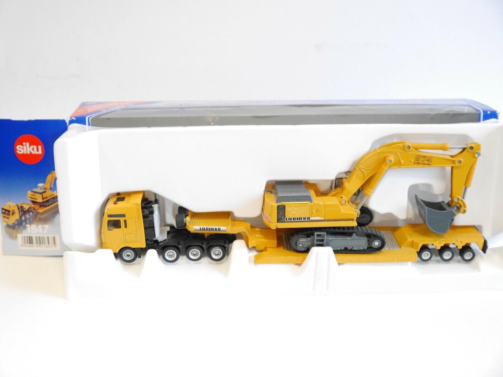 Precio al por mayor y calidad confiable. SZ Man tga tga tga XXL Liebherr + excavadoras 974 litronic amarillo, siku súper 1847 1 87 h0 OVP  Hay más marcas de productos de alta calidad.