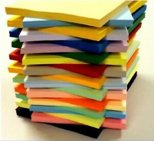 50-SHEET-A5-170gsm-CARD-STOCK-ASSORTED-PACK-CHOOSE-FROM-25-COLOURS-SCRAPBOOKING