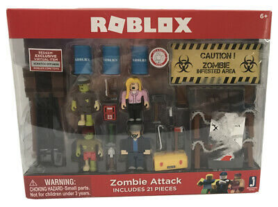 Sealed Roblox Celebrity Action Figures Accessories Zombie Attack