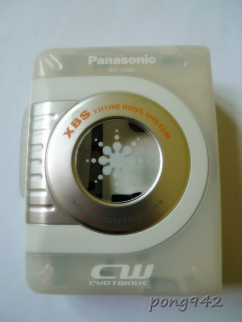 Panasonic Stereo Cassette Player CW RQ-CW03 NOS Japan version Headphones