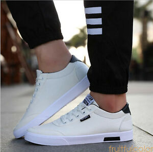 Image is loading 2017-HOT-Men-039-s-Canvas-Sneakers-Breathable-