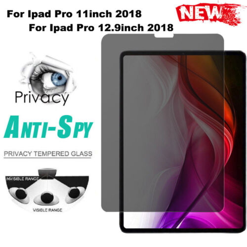 Privacy AntiSpy HD PET Film Screen Protector For Ipad Pro 11 Inch 12.9 Inch AU