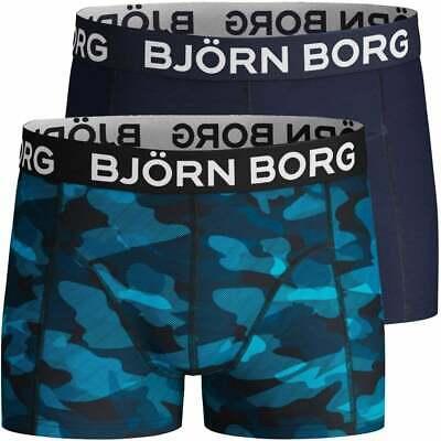 Bjorn Borg 5-Pack Eiffel Street /& Plains Boys Boxer Trunks Blue//Multi