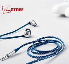 Samsung Earphones EO-IA510 In-ear Rectangle Headset Metal Design Blue