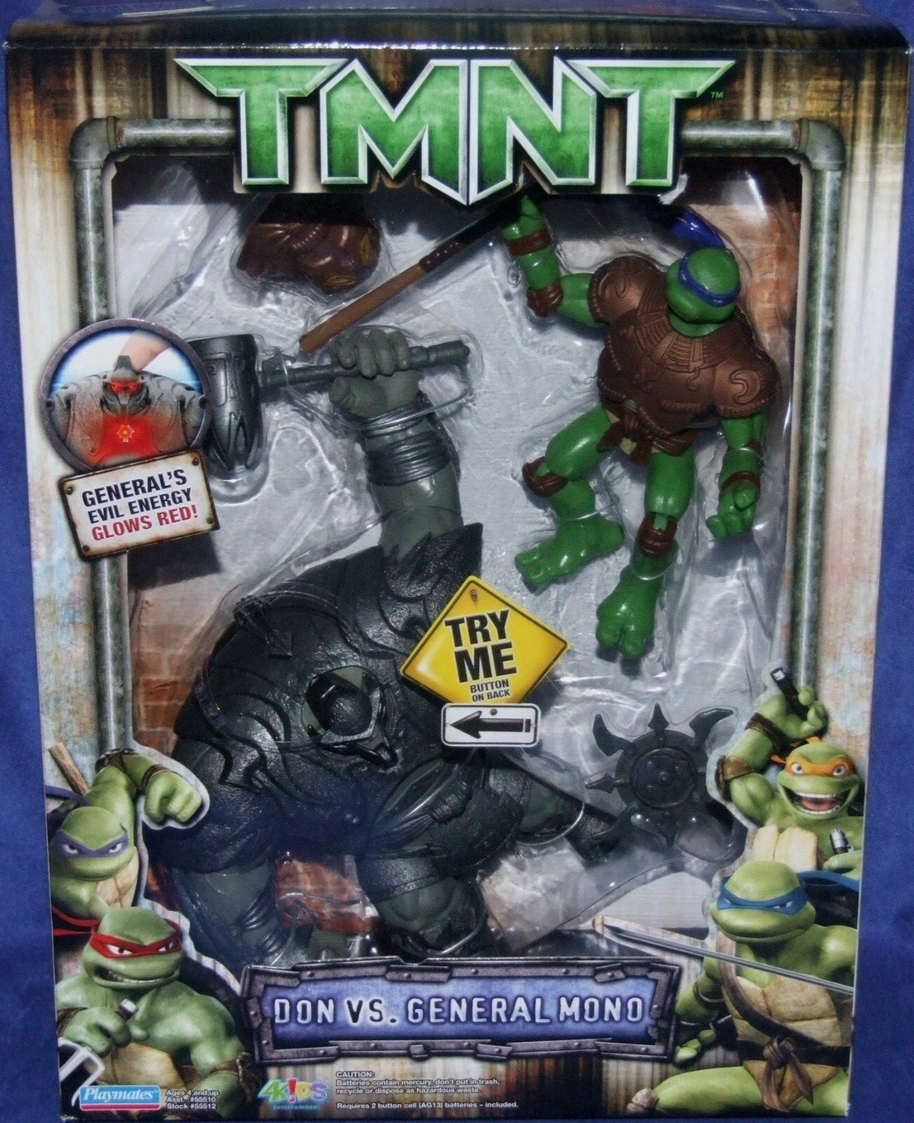 Teenage Mutant Ninja Turtles The Movie Don vs GENERAL Mono New Donatello 2006