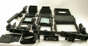 HORSEMAN-8x10-5x7-4x5-Sinar-large-formate-Grossformat-camera-Kamera-full-set-TOP