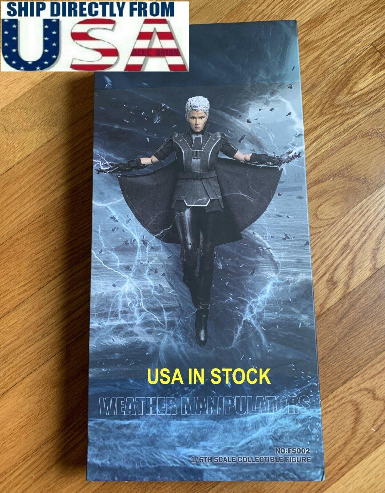 1 6 OrGold Storm Halle Berry X-Sie Superhero Full Set For Hot Toys USA IN STOCK