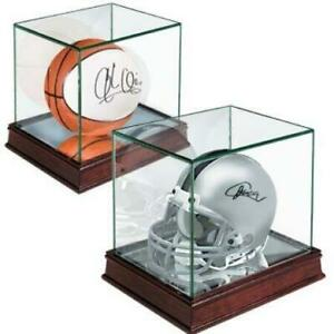 Ultra Pro Premium Glass Mini Helmet Display Case (New) Calgary Alberta Preview