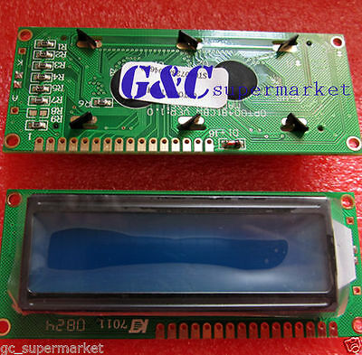 1602 16x2 HD44780 Character LCD Display Module LCM blue blacklight GOOD QUALITY