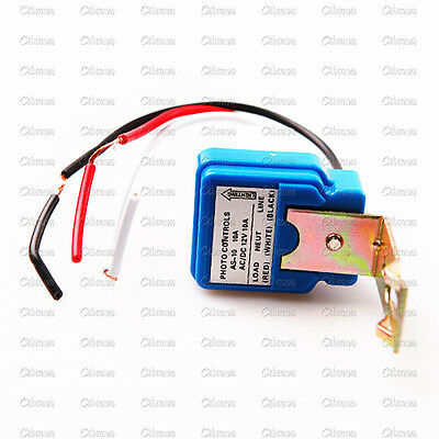 10A 220V Automatic Street Light Lighting Switch Electric Auto Operated Control