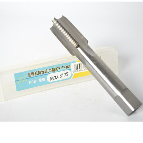 1pc M24mm x 1.25 Metric Machine right hand Tap M24x 1.25 mm superior quality(S)
