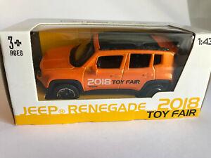 Jeep-Renegade-Messemodell-2018-Bburago-Maisto-Bburago-Auto-Modell-1-43