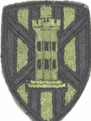 US 7th Engineer Brigade Patch OD subdued each P5076