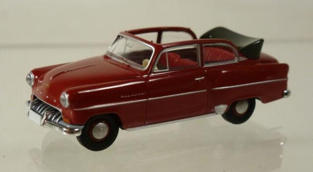 Brekina 1:87 Opel  Olympia  Cabrio, rot
