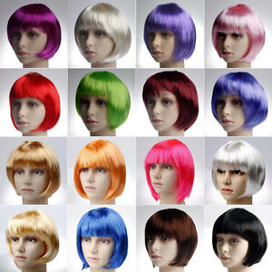 19-Colors-New-Fashion-Women-Girls-BOB-Short-Straight-Party-Cosplay-Full-Wigs