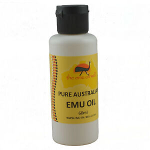 100-Pure-Australian-Emu-Oil-Perfect-For-Skin-And-Hair-Muscles-amp-Joints-60-ml