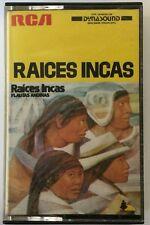 RAICES INCAS FLAUTAS ANDINAS 1979 BRAZIL IMPORT CS VG
